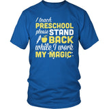 Preschool - Magic - District Unisex Shirt / Royal Blue / S - 8