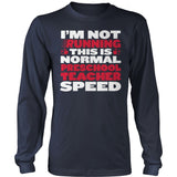 Preschool - Normal Speed - District Long Sleeve / Navy / S - 10