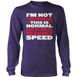 Preschool - Normal Speed - District Long Sleeve / Purple / S - 11
