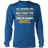 School Bus Attendant - Finest - District Long Sleeve / Royal Blue / S - 11