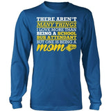School Bus Attendant - Many Things - District Long Sleeve / Royal Blue / S - 10
