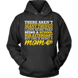 School Bus Attendant - Many Things - Hoodie / Black / S - 11