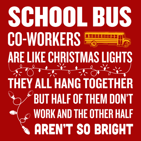 School Bus Driver - Christmas Co-workers -  - 9