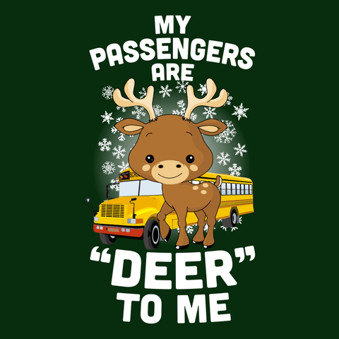 School Bus Driver - Deer to Me -  - 12