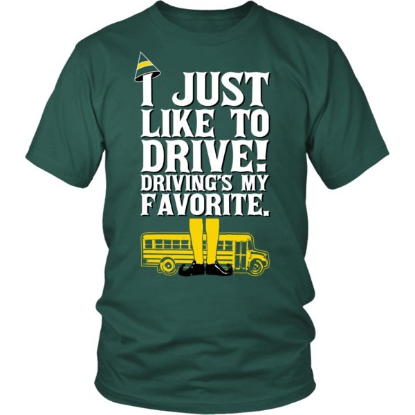 School Bus Driver - ElfT-shirt - Keep It School - 1