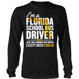 School Bus Driver - Florida Cooler - District Long Sleeve / Black / S - 7