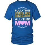 School Bus Driver - Full Time - District Unisex Shirt / Royal Blue / S - 8