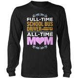 School Bus Driver - Full Time - District Long Sleeve / Black / S - 9