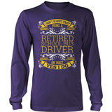 School Bus Driver - I Don't Always - District Long Sleeve / Purple / S - 11