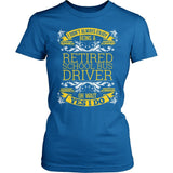 School Bus Driver - I Don't Always - District Made Womens Shirt / Royal / S - 2