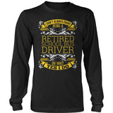 School Bus Driver - I Don't Always - District Long Sleeve / Black / S - 9