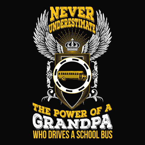 School Bus Driver - Never Underestimate -  - 14