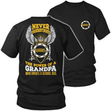 School Bus Driver - Never Underestimate - District Unisex Shirt / Black / S - 1