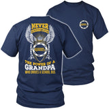 School Bus Driver - Never Underestimate - District Unisex Shirt / Navy / S - 2