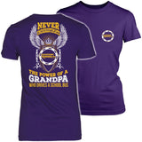 School Bus Driver - Never Underestimate - District Made Womens Shirt / Purple / S - 8