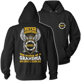 School Bus Driver - Never Underestimate Grandma - Hoodie / Black / S - 12