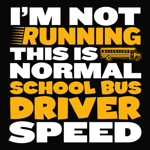 School Bus Driver - Normal Speed -  - 14