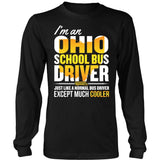 School Bus Driver - Ohio Cooler - District Long Sleeve / Black / S - 7
