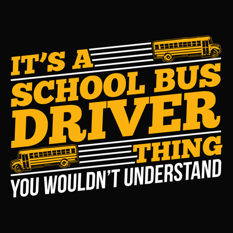 School Bus Driver - School Bus Thing -  - 14
