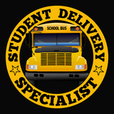 T-shirt - School Bus Driver - Student Delivery