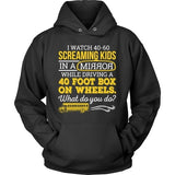 School Bus Driver - What Do You Do - Hoodie / Black / S - 12