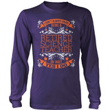 Science - I Don't Always - District Long Sleeve / Purple / S - 11