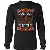 Science - I Don't Always - District Long Sleeve / Black / S - 9