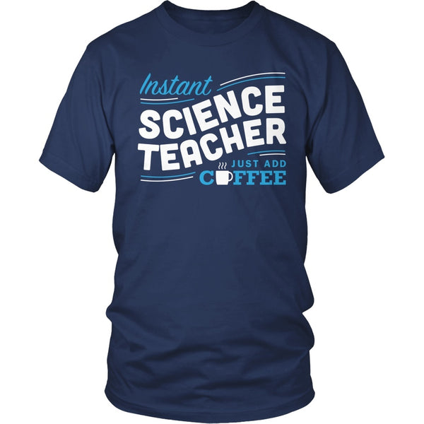 Science - Instant - District Unisex Shirt / Navy / S - 1