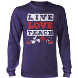 Science - Live Love - District Long Sleeve / Purple / S - 11