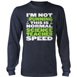 Science - Normal Speed - District Long Sleeve / Navy / S - 10