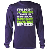 Science - Normal Speed - District Long Sleeve / Purple / S - 11