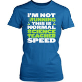 Science - Normal Speed - District Made Womens Shirt / Royal / S - 2