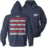 Science - Poem - Hoodie / Navy / S - 13