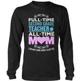Second Grade - Full Time - District Long Sleeve / Black / S - 9