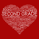 Second Grade - Heart -  - 14