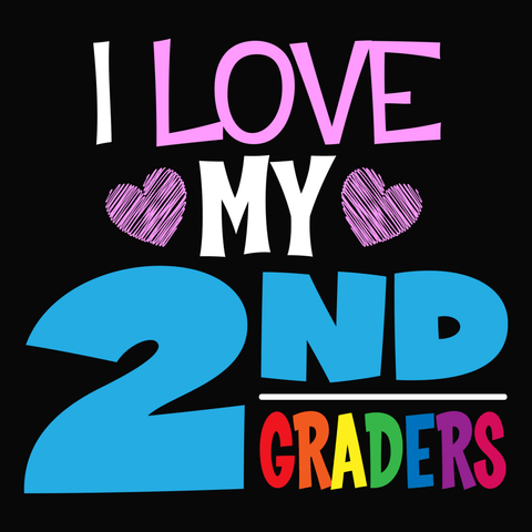 Second Grade - I Love My -  - 13