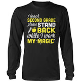 Second Grade - Magic - District Long Sleeve / Black / S - 9