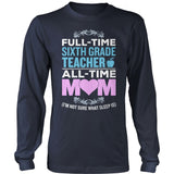 Sixth Grade - Full Time - District Long Sleeve / Navy / S - 10