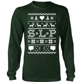 SLP - Ugly Sweater - District Long Sleeve / Dark Green / S - 1