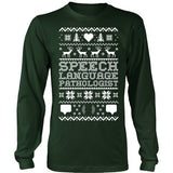 SLP - Ugly Sweater 2 - District Long Sleeve / Dark Green / S - 2