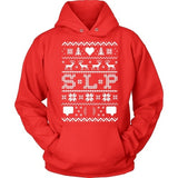 SLP - Ugly Sweater - Hoodie / Red / S - 8