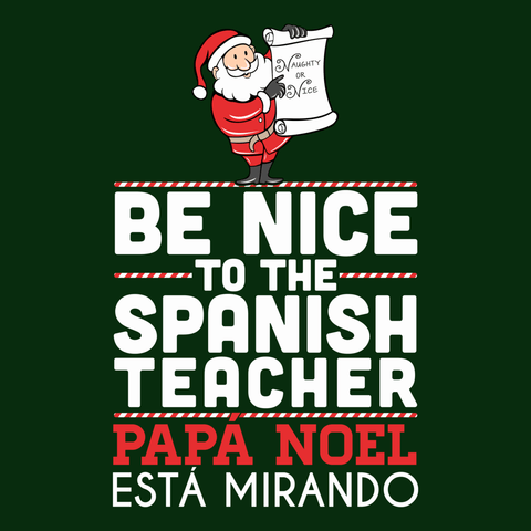 Spanish - Be Nice Holiday -  - 13