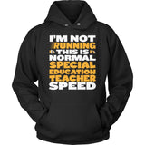 Special Education - Normal Speed - Hoodie / Black / S - 12