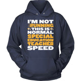 Special Education - Normal Speed - Hoodie / Navy / S - 13