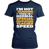 Special Education - Normal Speed - District Made Womens Shirt / Navy / S - 3
