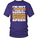 Special Education - Normal Speed - District Unisex Shirt / Purple / S - 7