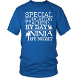 Special Education - Teacher By Day - District Unisex Shirt / Royal Blue / S - 9