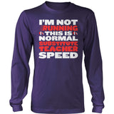 Substitute - Normal Speed - District Long Sleeve / Purple / S - 11