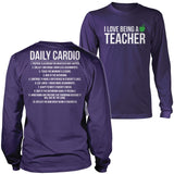 Teacher - Cardio - District Long Sleeve / Purple / S - 11