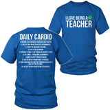 Teacher - Cardio - District Unisex Shirt / Royal Blue / S - 8